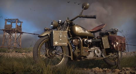Indian Scout 741B CoD in-game footage